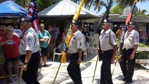 Earles Memorial Day 2015 marching in